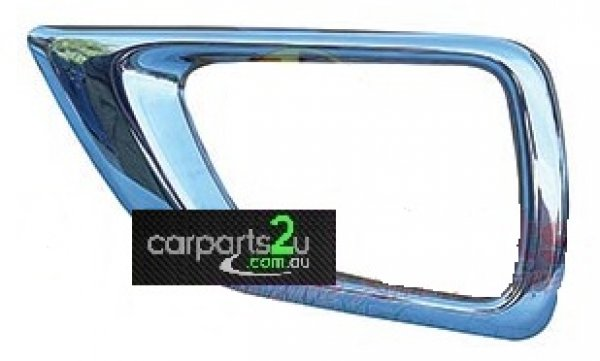 To suit NISSAN NAVARA  FOG LIGHT BEZEL - New quality car parts & auto spares online Australia wide with the convenience of shopping from your own home. Carparts 2U Penrith Sydney