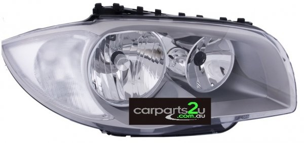 BMW 1 SERIES E87 5 DOOR  HEAD LIGHT - New quality car parts & auto spares online Australia wide with the convenience of shopping from your own home. Carparts 2U Penrith Sydney