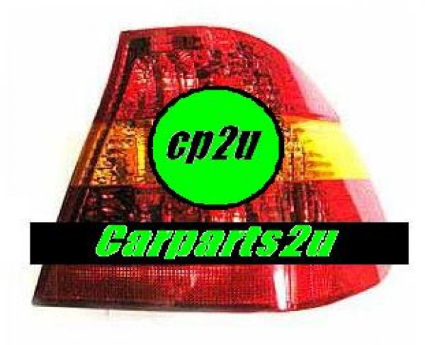 TO SUIT BMW 3 SERIES E46  TAIL LIGHT  RIGHT - BRAND NEW RIGHT HAND SIDE TAIL LIGHT TO SUIT BMW 3 SERIES E46 SEDAN MODELS BETWEEN 10/01-8/06 (RED/AMBER/RED TYPE)