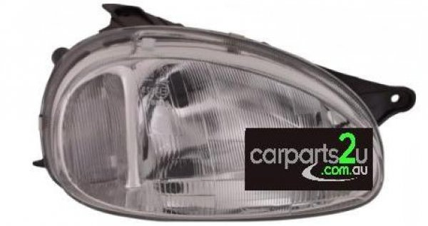 To suit HOLDEN BARINA SB  HEAD LIGHT - New quality car parts & auto spares online Australia wide with the convenience of shopping from your own home. Carparts 2U Penrith Sydney