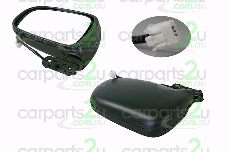 TOYOTA TARAGO TARAGO WAGON TCR  FRONT DOOR MIRROR - New quality car parts & auto spares online Australia wide with the convenience of shopping from your own home. Carparts 2U Penrith Sydney