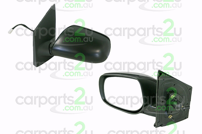 TOYOTA YARIS YARIS HATCH NCP90/NCP91  FRONT DOOR MIRROR - New quality car parts & auto spares online Australia wide with the convenience of shopping from your own home. Carparts 2U Penrith Sydney