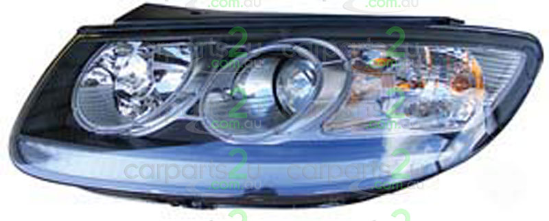 HYUNDAI SANTA FE EXCEL X3  HEAD LIGHT - New quality car parts & auto spares online Australia wide with the convenience of shopping from your own home. Carparts 2U Penrith Sydney