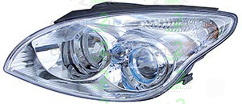 HYUNDAI I30 ILOAD / IMAX  HEAD LIGHT - New quality car parts & auto spares online Australia wide with the convenience of shopping from your own home. Carparts 2U Penrith Sydney