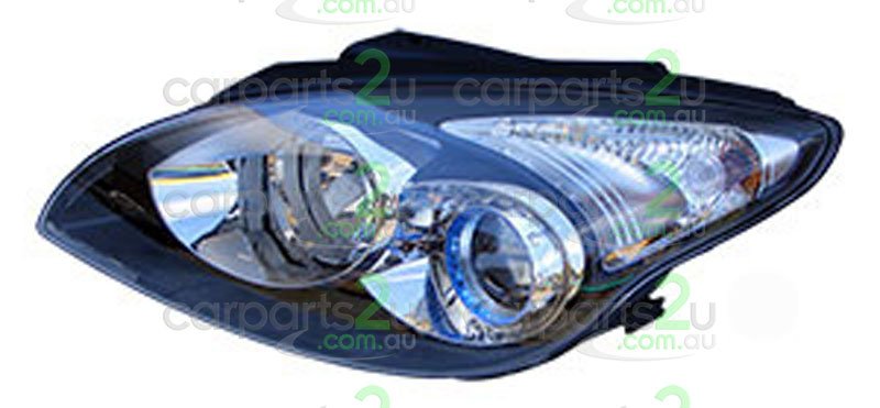 HYUNDAI I30 FD  HEAD LIGHT - New quality car parts & auto spares online Australia wide with the convenience of shopping from your own home. Carparts 2U Penrith Sydney
