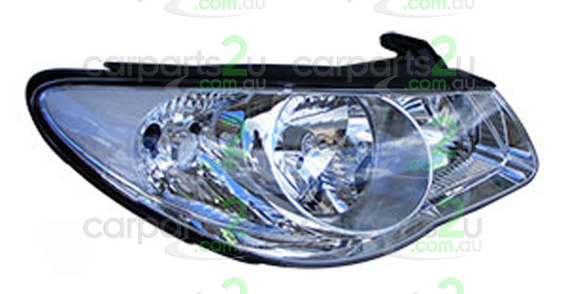 HYUNDAI ELANTRA ELANTRA HD  HEAD LIGHT - New quality car parts & auto spares online Australia wide with the convenience of shopping from your own home. Carparts 2U Penrith Sydney