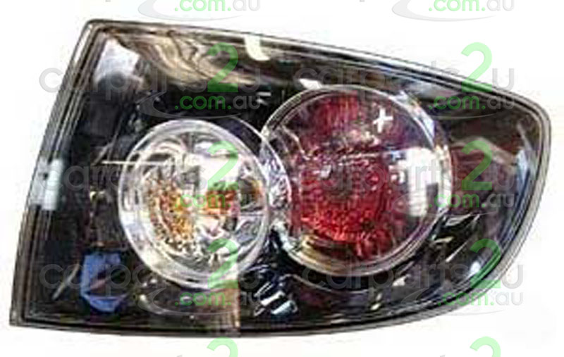 MAZDA MAZDA 3 MAZDA 3 BK  TAIL LIGHT - New quality car parts & auto spares online Australia wide with the convenience of shopping from your own home. Carparts 2U Penrith Sydney