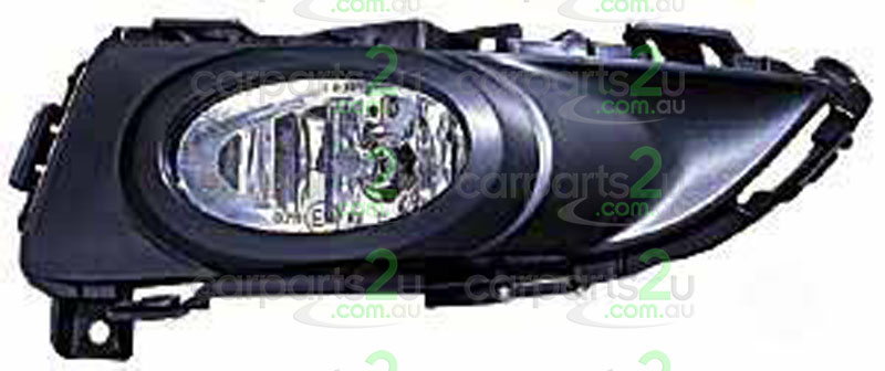 MAZDA MAZDA 3 MAZDA 3 BK  FOG LIGHT - New quality car parts & auto spares online Australia wide with the convenience of shopping from your own home. Carparts 2U Penrith Sydney
