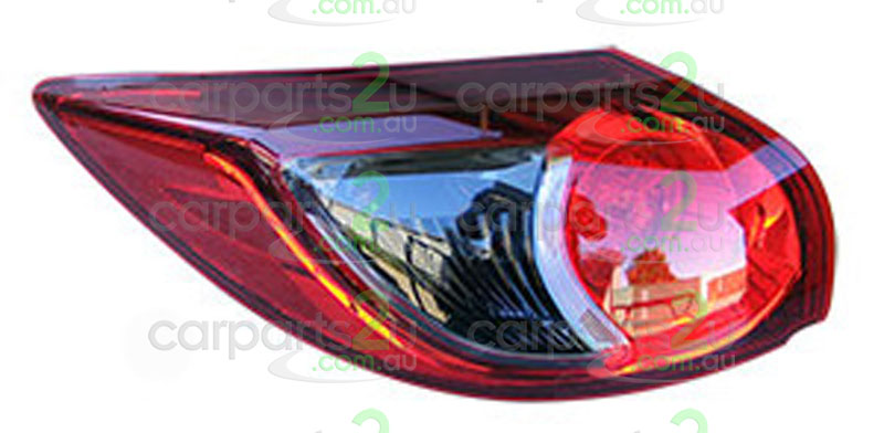 MAZDA CX-5 MAZDA 6 GJ  TAIL LIGHT - New quality car parts & auto spares online Australia wide with the convenience of shopping from your own home. Carparts 2U Penrith Sydney