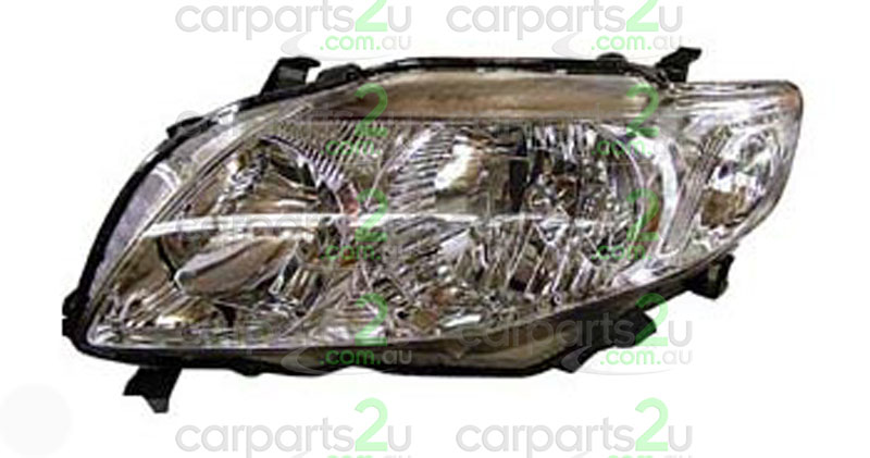 TOYOTA COROLLA ZZE122  HEAD LIGHT - New quality car parts & auto spares online Australia wide with the convenience of shopping from your own home. Carparts 2U Penrith Sydney