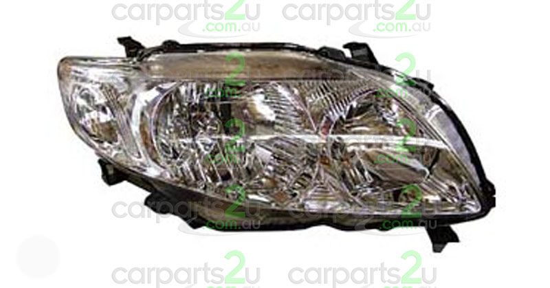 TOYOTA COROLLA ZRE152/ZRE153 SEDAN  HEAD LIGHT - New quality car parts & auto spares online Australia wide with the convenience of shopping from your own home. Carparts 2U Penrith Sydney