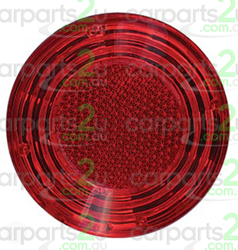TO SUIT TOYOTA COROLLA ZRE152/ZRE153 SEDAN  REAR BAR REFLECTOR  LEFT/RIGHT - BRAND NEW REAR BAR REFLECTOR TO SUIT TOYOTA COROLLA ZRE152/153 SEDAN MODELS ONLY BETWEEN 3/07-4/10 ONLY