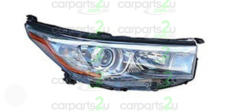 TOYOTA KLUGER KLUGER GSU50  HEAD LIGHT - New quality car parts & auto spares online Australia wide with the convenience of shopping from your own home. Carparts 2U Penrith Sydney
