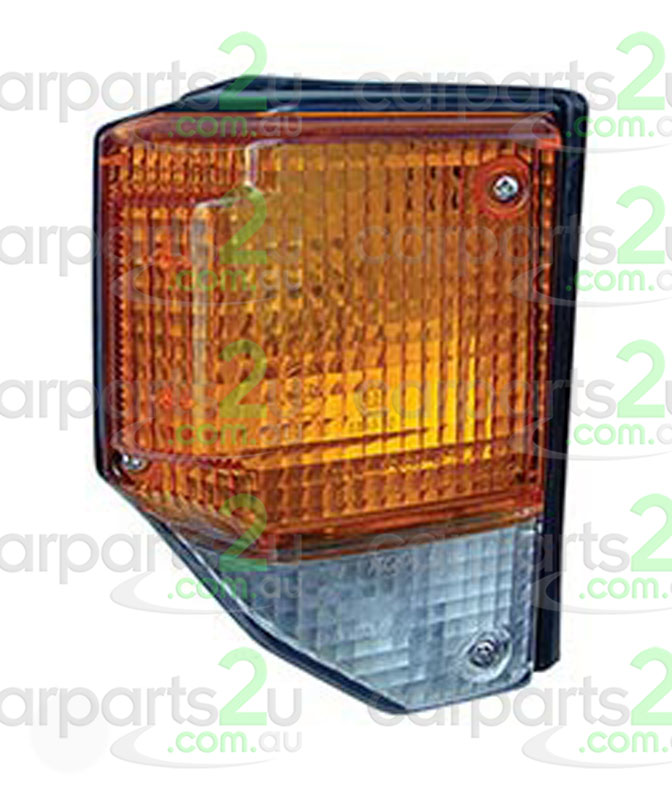 TOYOTA LANDCRUISER 70 SERIES  FRONT CORNER LIGHT - New quality car parts & auto spares online Australia wide with the convenience of shopping from your own home. Carparts 2U Penrith Sydney