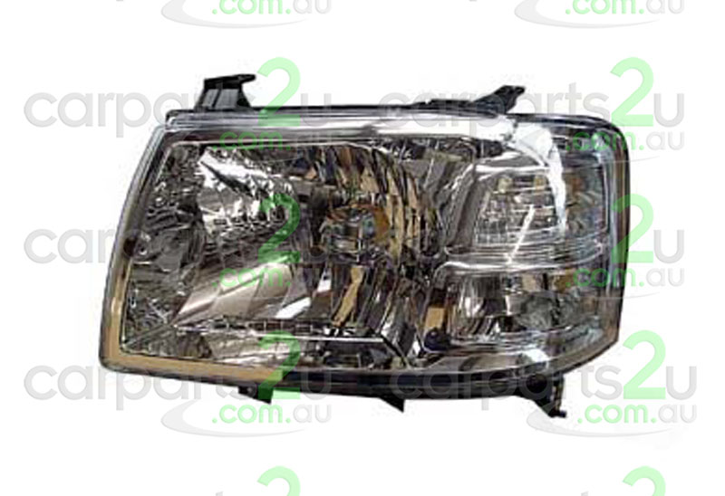 FORD RANGER AU  HEAD LIGHT - New quality car parts & auto spares online Australia wide with the convenience of shopping from your own home. Carparts 2U Penrith Sydney