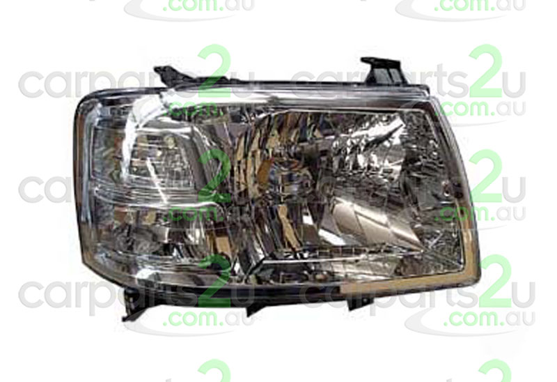 FORD RANGER RANGER UTE PJ  HEAD LIGHT - New quality car parts & auto spares online Australia wide with the convenience of shopping from your own home. Carparts 2U Penrith Sydney