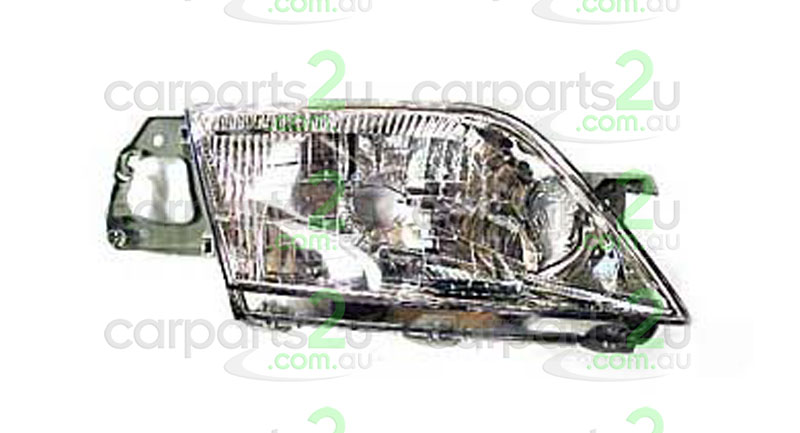FORD LASER KN/KQ  HEAD LIGHT - New quality car parts & auto spares online Australia wide with the convenience of shopping from your own home. Carparts 2U Penrith Sydney