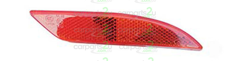 TO SUIT FORD FIESTA FIESTA WT  REAR BAR REFLECTOR  RIGHT - BRAND NEW RIGHT HAND SIDE REAR BAR REFLECTOR TO SUIT FORD FIESTA SEDAN WT (06/2010-07/2013)