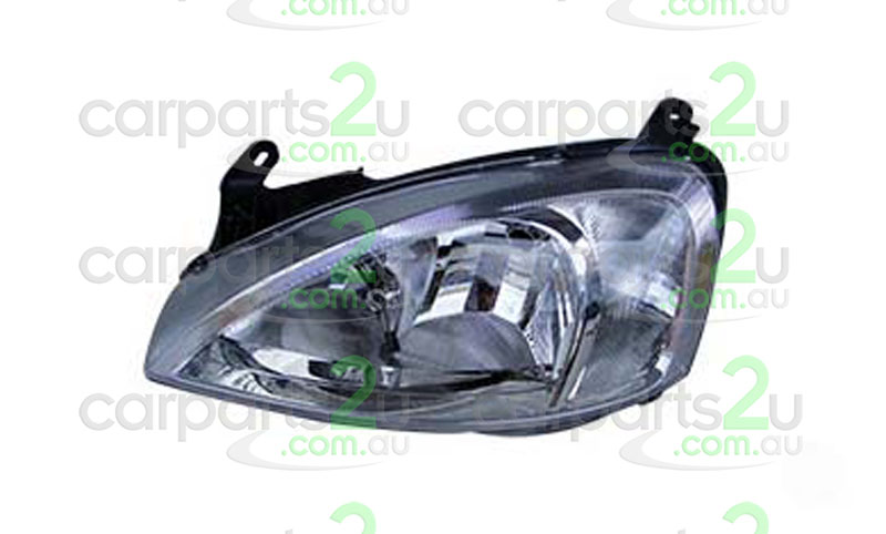 HOLDEN BARINA SB  HEAD LIGHT - New quality car parts & auto spares online Australia wide with the convenience of shopping from your own home. Carparts 2U Penrith Sydney
