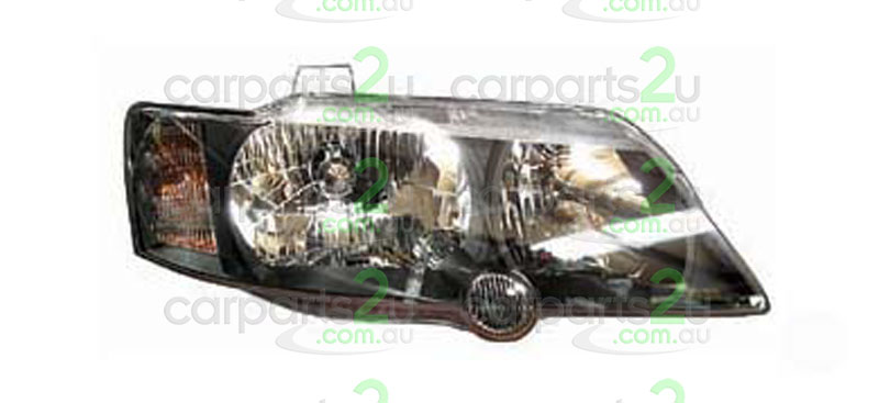 HOLDEN COMMODORE VY  HEAD LIGHT - New quality car parts & auto spares online Australia wide with the convenience of shopping from your own home. Carparts 2U Penrith Sydney