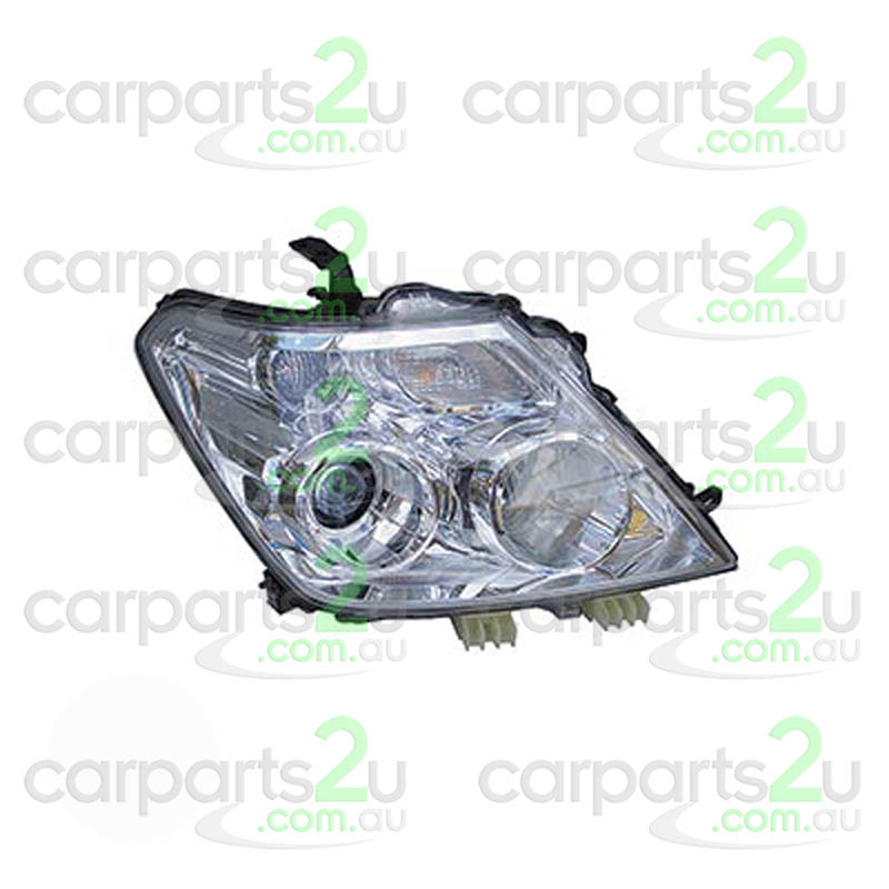 To suit NISSAN PATROL  HEAD LIGHT - New quality car parts & auto spares online Australia wide with the convenience of shopping from your own home. Carparts 2U Penrith Sydney