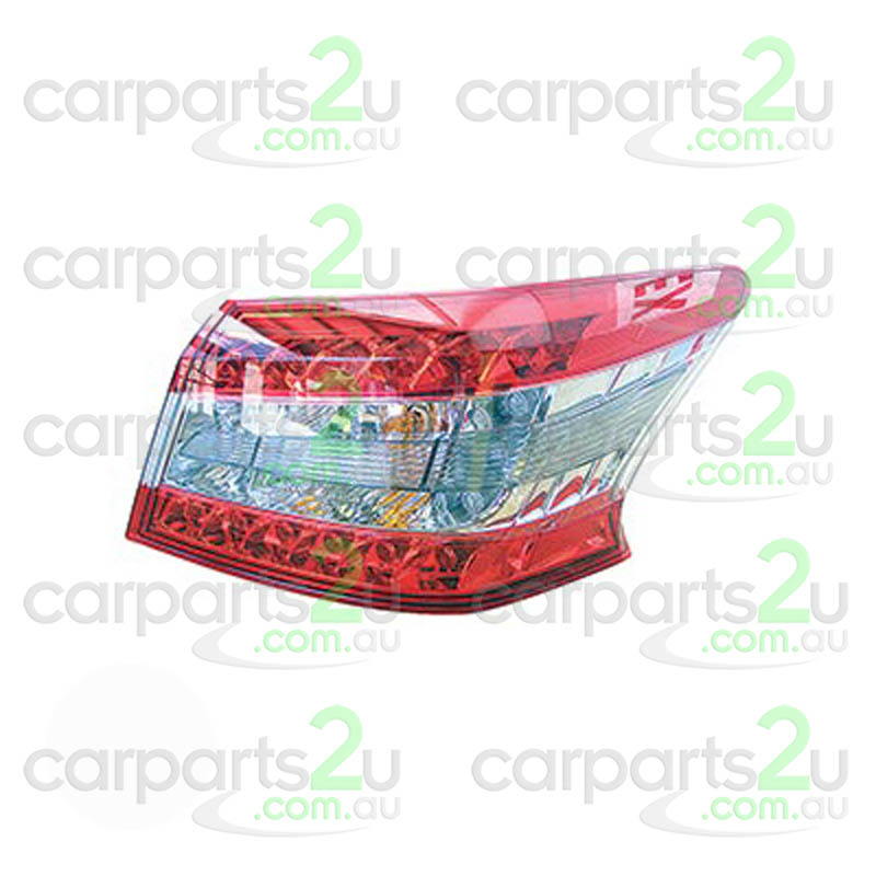 NISSAN PULSAR J32  TAIL LIGHT - New quality car parts & auto spares online Australia wide with the convenience of shopping from your own home. Carparts 2U Penrith Sydney