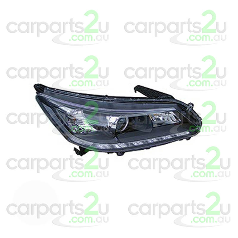 HONDA ACCORD CR  HEAD LIGHT - New quality car parts & auto spares online Australia wide with the convenience of shopping from your own home. Carparts 2U Penrith Sydney
