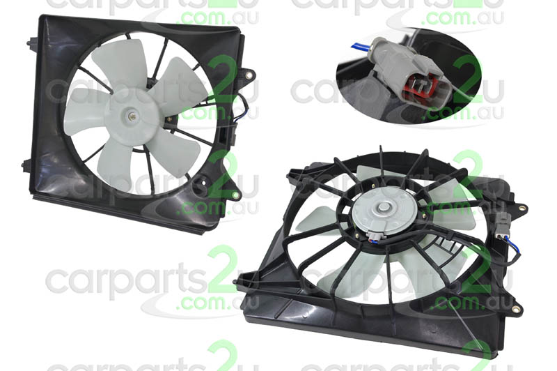 HONDA CRV CR-V RD WAGON  RADIATOR FAN ASSEMBLY - New quality car parts & auto spares online Australia wide with the convenience of shopping from your own home. Carparts 2U Penrith Sydney