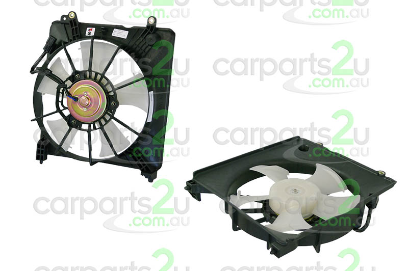 HONDA JAZZ JAZZ GD  RADIATOR FAN ASSEMBLY - New quality car parts & auto spares online Australia wide with the convenience of shopping from your own home. Carparts 2U Penrith Sydney