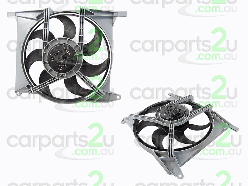 HOLDEN ASTRA VE SERIES 2  RADIATOR FAN ASSEMBLY - New quality car parts & auto spares online Australia wide with the convenience of shopping from your own home. Carparts 2U Penrith Sydney