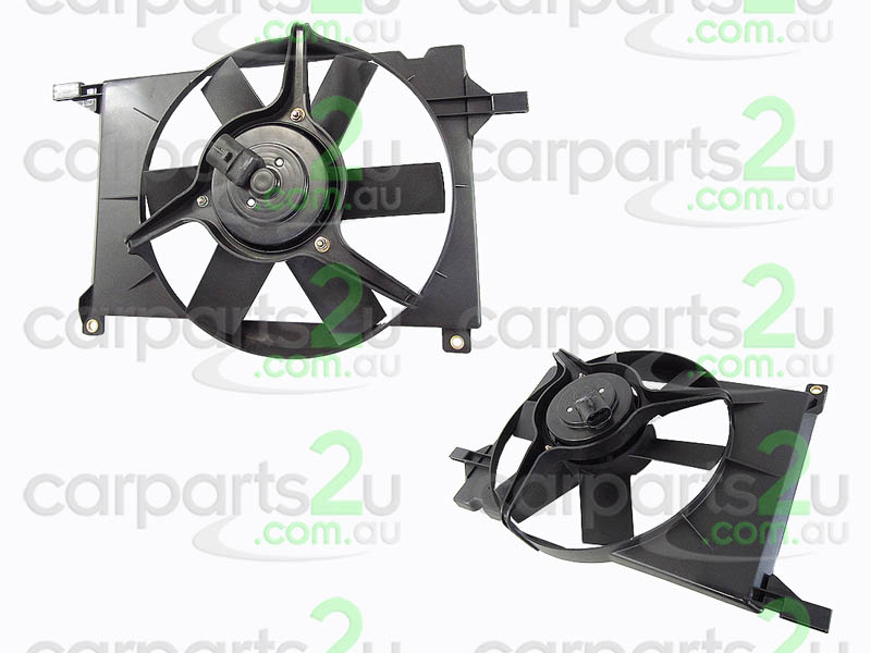HOLDEN BARINA TR  RADIATOR FAN ASSEMBLY - New quality car parts & auto spares online Australia wide with the convenience of shopping from your own home. Carparts 2U Penrith Sydney