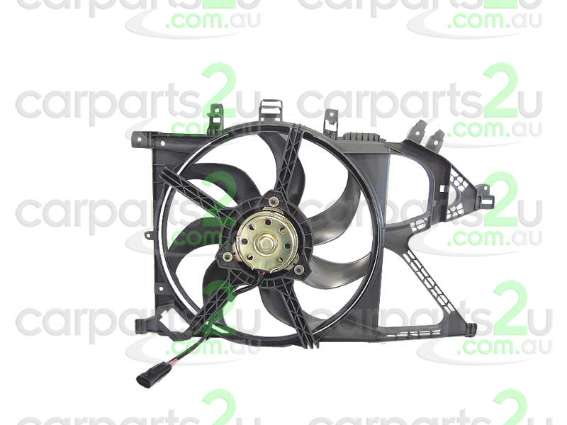 HOLDEN BARINA SB  RADIATOR FAN ASSEMBLY - New quality car parts & auto spares online Australia wide with the convenience of shopping from your own home. Carparts 2U Penrith Sydney
