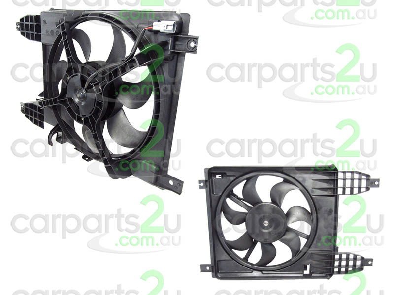 TO SUIT HOLDEN BARINA TK SEDAN  RADIATOR FAN ASSEMBLY  NA - BRAND NEW RADIATOR FAN ASSEMBLY TO SUIT HOLDEN BARINA TK HATCH MODELS BETWEEN 6/2008-12/2012 & TK SEDAN MODELS BETWEEN 6/2008-11/2011