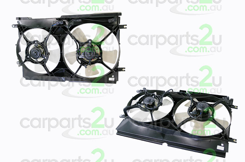 HOLDEN COMMODORE VT  RADIATOR FAN ASSEMBLY - New quality car parts & auto spares online Australia wide with the convenience of shopping from your own home. Carparts 2U Penrith Sydney