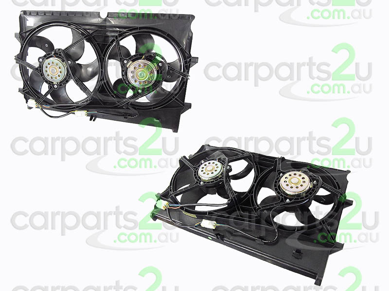 HOLDEN COMMODORE VY  RADIATOR FAN ASSEMBLY - New quality car parts & auto spares online Australia wide with the convenience of shopping from your own home. Carparts 2U Penrith Sydney