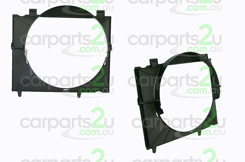 TO SUIT HOLDEN RODEO RA  FAN SHROUD  NA - BRAND NEW RADIATOR FAN SHROUD TO SUIT HOLDEN RODEO RA 3.0 LITRE DIESEL MODELS ONLY BETWEEN 3/03-12/06
