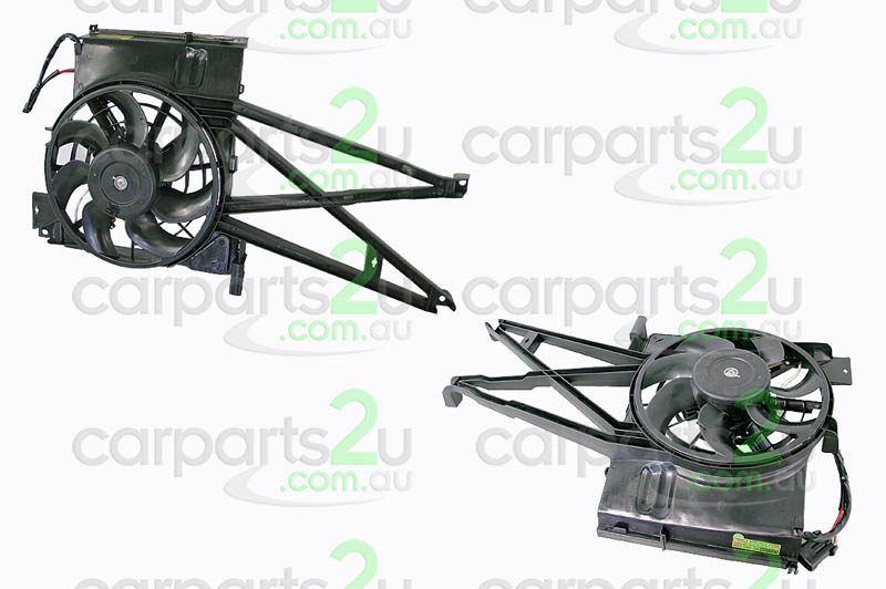 HOLDEN VECTRA RA  CONDENSER FAN ASSEMBLY - New quality car parts & auto spares online Australia wide with the convenience of shopping from your own home. Carparts 2U Penrith Sydney