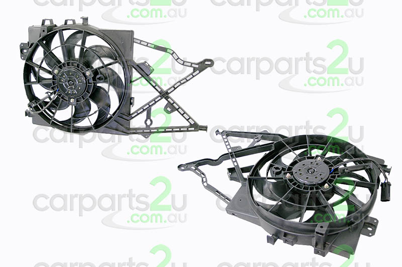 HOLDEN VECTRA VE SERIES 1  RADIATOR FAN ASSEMBLY - New quality car parts & auto spares online Australia wide with the convenience of shopping from your own home. Carparts 2U Penrith Sydney