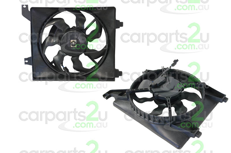TO SUIT HYUNDAI ACCENT MC  CONDENSER FAN ASSEMBLY  NA - BRAND NEW A/C CONDENSER FAN ASSEMBLY TO SUIT HYUNDAI ACCENT (05/2006-12/2009)