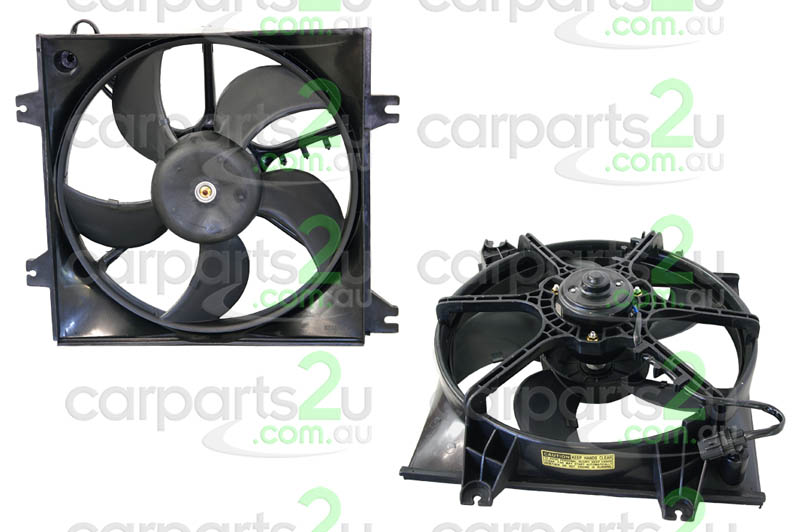 HYUNDAI ACCENT FD  RADIATOR FAN ASSEMBLY - New quality car parts & auto spares online Australia wide with the convenience of shopping from your own home. Carparts 2U Penrith Sydney