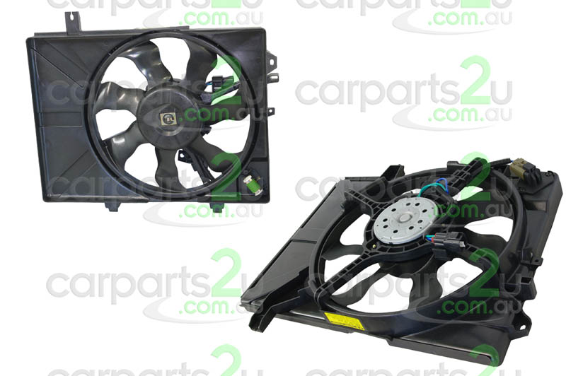 HYUNDAI GETZ MC  RADIATOR FAN ASSEMBLY - New quality car parts & auto spares online Australia wide with the convenience of shopping from your own home. Carparts 2U Penrith Sydney