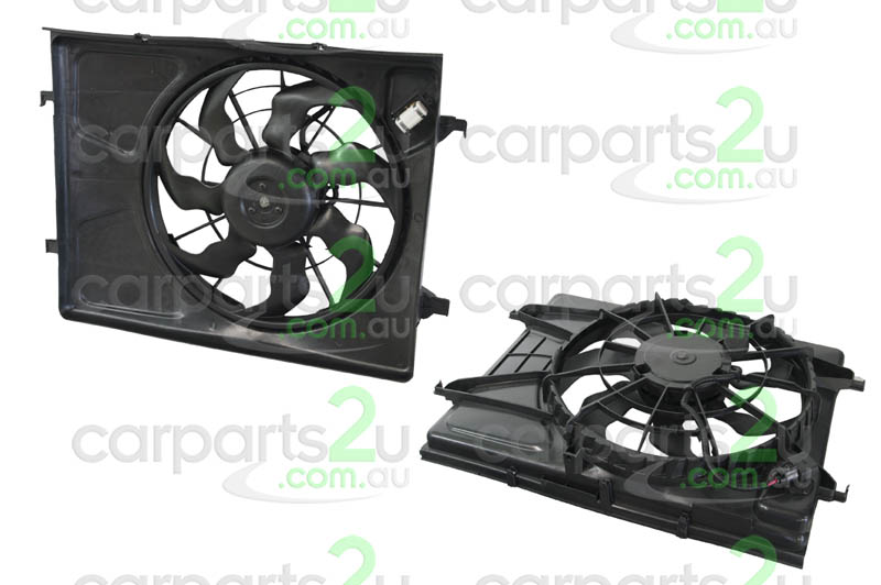 HYUNDAI I30 TB  RADIATOR FAN ASSEMBLY - New quality car parts & auto spares online Australia wide with the convenience of shopping from your own home. Carparts 2U Penrith Sydney
