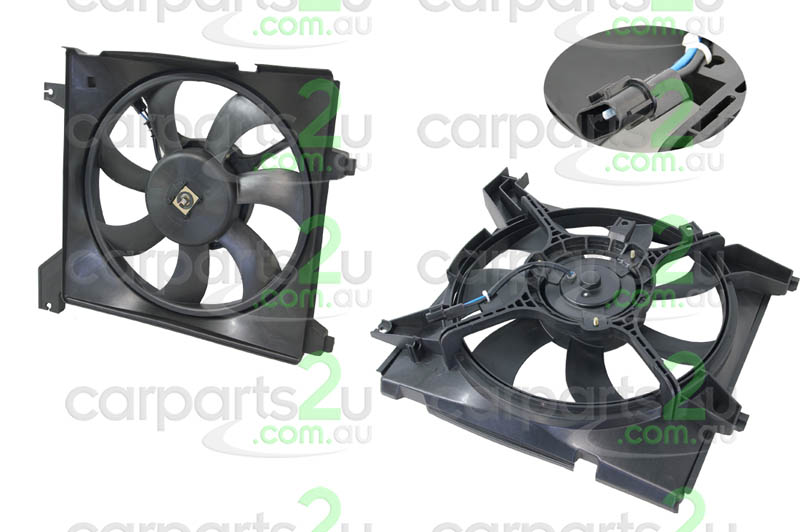 HYUNDAI ELANTRA FD  RADIATOR FAN ASSEMBLY - New quality car parts & auto spares online Australia wide with the convenience of shopping from your own home. Carparts 2U Penrith Sydney