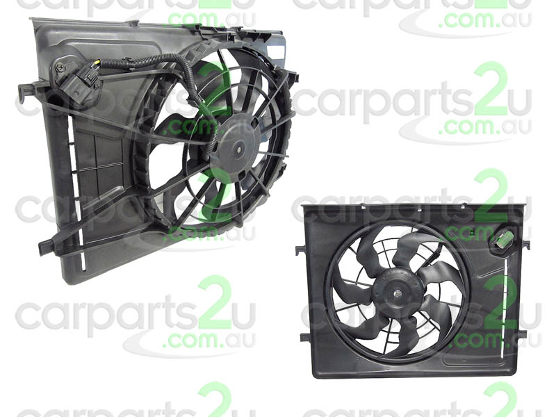 HYUNDAI ELANTRA ELANTRA XD  RADIATOR FAN ASSEMBLY - New quality car parts & auto spares online Australia wide with the convenience of shopping from your own home. Carparts 2U Penrith Sydney