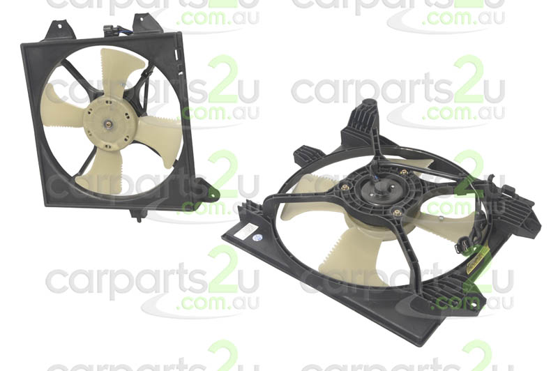 MITSUBISHI LANCER CE SEDAN  CONDENSER FAN ASSEMBLY - New quality car parts & auto spares online Australia wide with the convenience of shopping from your own home. Carparts 2U Penrith Sydney