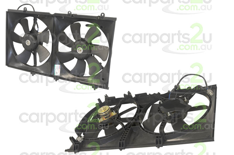 MITSUBISHI LANCER CG  RADIATOR FAN ASSEMBLY - New quality car parts & auto spares online Australia wide with the convenience of shopping from your own home. Carparts 2U Penrith Sydney