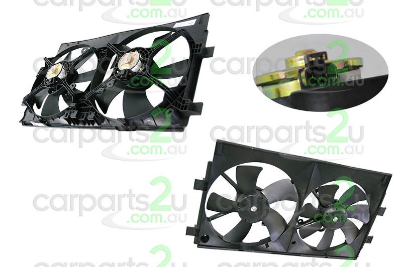 MITSUBISHI LANCER CH  RADIATOR FAN ASSEMBLY - New quality car parts & auto spares online Australia wide with the convenience of shopping from your own home. Carparts 2U Penrith Sydney