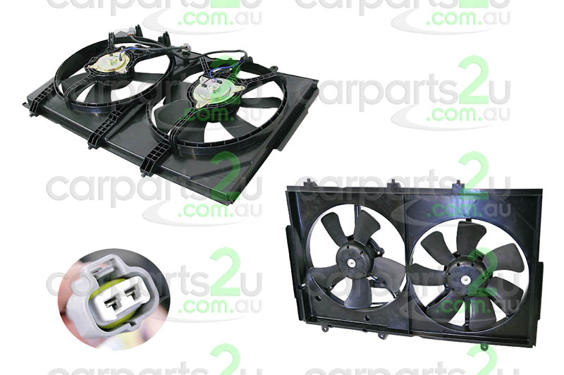 MITSUBISHI OUTLANDER CJ  RADIATOR FAN ASSEMBLY - New quality car parts & auto spares online Australia wide with the convenience of shopping from your own home. Carparts 2U Penrith Sydney