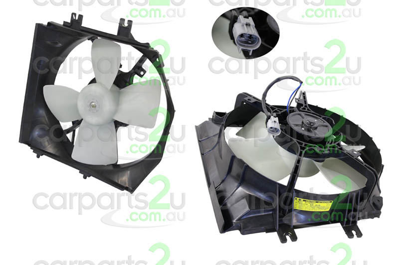 MAZDA 323 MAZDA 3 BK  RADIATOR FAN ASSEMBLY - New quality car parts & auto spares online Australia wide with the convenience of shopping from your own home. Carparts 2U Penrith Sydney