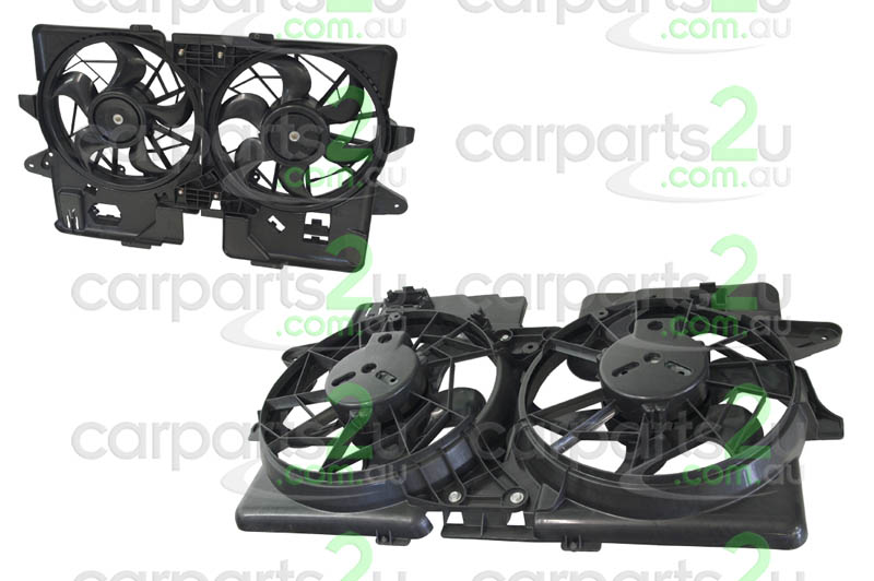 MAZDA TRIBUTE MAZDA 3 BK  RADIATOR FAN ASSEMBLY - New quality car parts & auto spares online Australia wide with the convenience of shopping from your own home. Carparts 2U Penrith Sydney